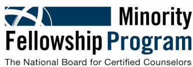 NBCC Minority Fellowship Program
